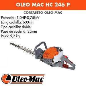 Cortasetos Oleo Mac HC 246 P