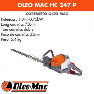 Cortasetos Oleo Mac HC 247 P