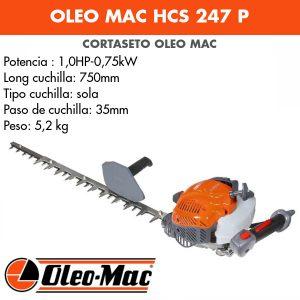 Cortasetos Oleo Mac HCS 247 P