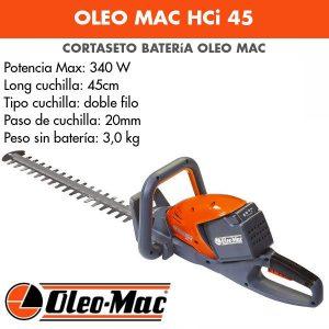 Cortasetos Oleo Mac HCi 45