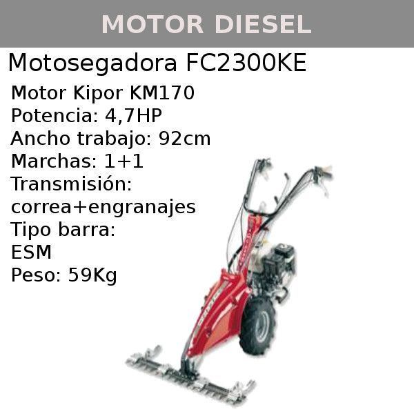Motosegadora Benassi FC2300KE
