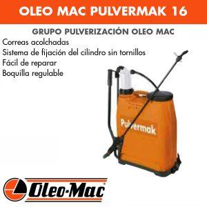 Grupo pulverización Oleo Mac PULVERMAK 16 L