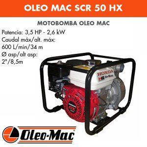 Motobomba Oleo Mac SCR 50 HX