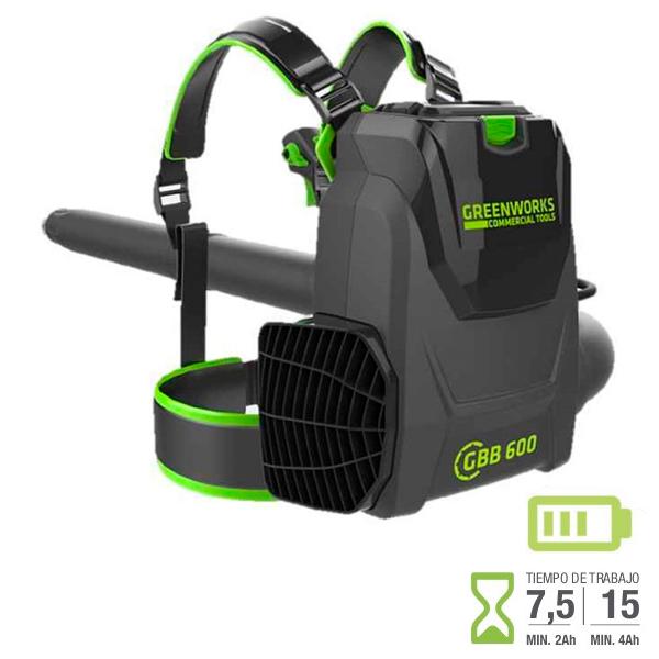 Soplador Greenworks GC82BPB