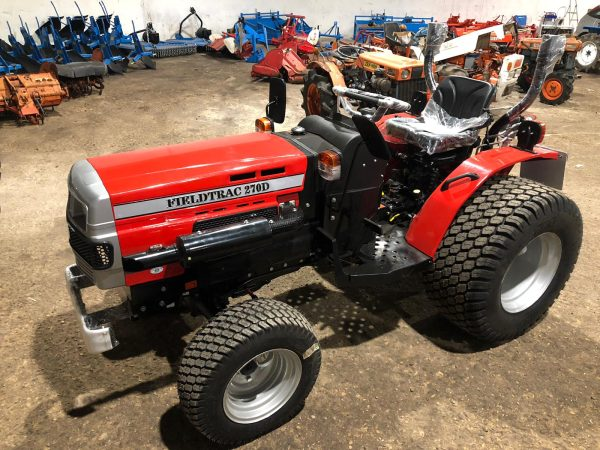 Minitractor FIELD TRAC 270DT 27CV powered by Mitsubishi
