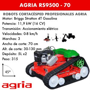 agria rs9500-70