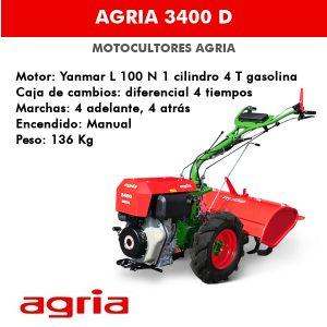motocultor agria 3400 D