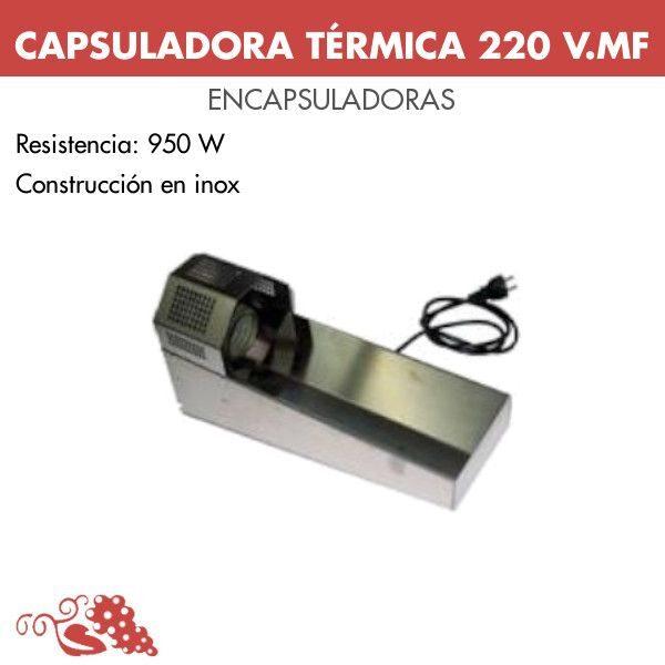 Capsuladora térmica 220 V.MF
