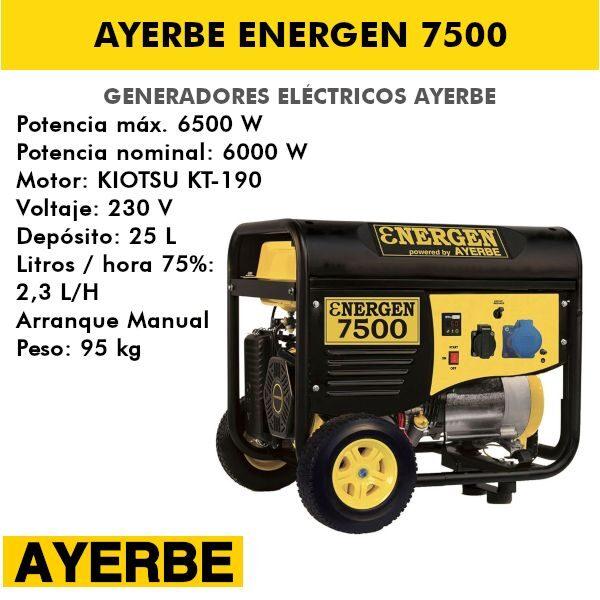 energen 7500
