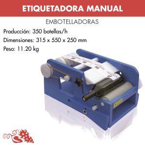 ETIQUETADORA MANUAL PARA ETIQUETAS ADHESIVAS