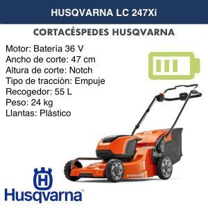 husqvarna lc247xi 36 V