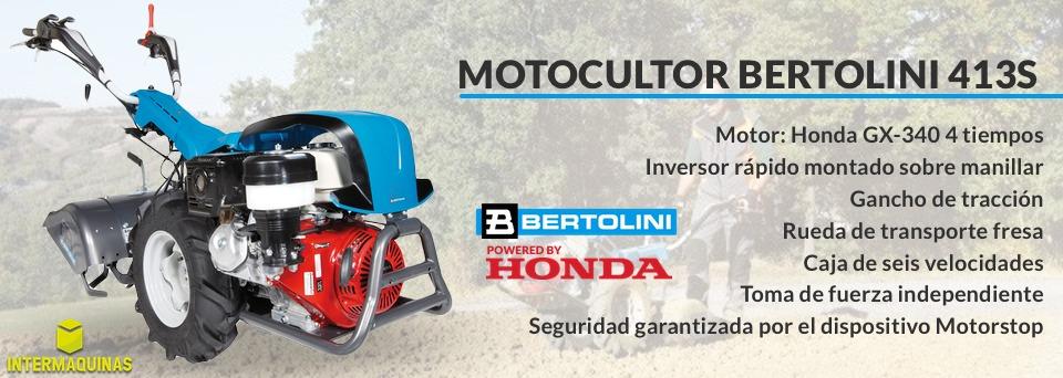 Motocultor Bertolini 413s comprar