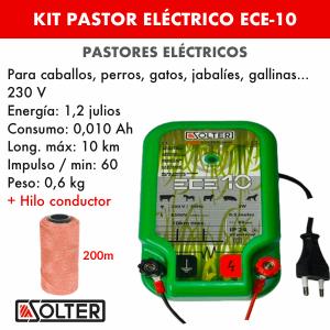pastor electrico solter ece 10 con hilo conductor