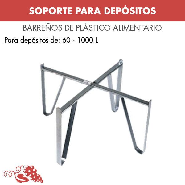 SOPORTE PARA DEPÓSITO DE 1000 LTRS
