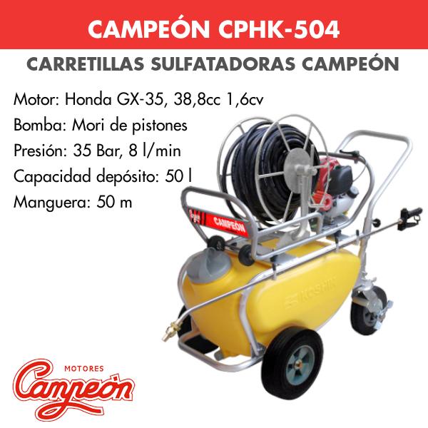 Carretilla sulfatadora Campeon CPHK-504 HONDA