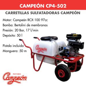 Carretilla sulfatadora Campeon CP4-502