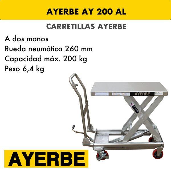 Carretilla AY 200 AL
