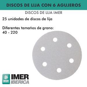 Discos de lija - Imer