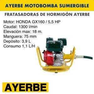 Motobomba sumergible - 0
