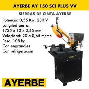 Sierra de cinta Ayerbe 150 SCI PLUS VV