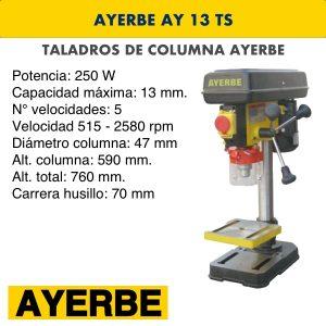 Taladro de columna AYERBE AY 13 TS