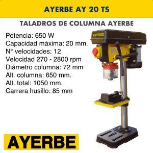 Taladro de columna AYERBE AY 20 TS