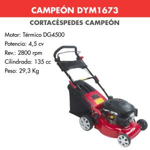 Cortacesped Campeon DYM1673 135 CC