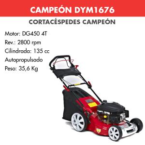 Cortacesped Campeon DYM-1676 135 CC