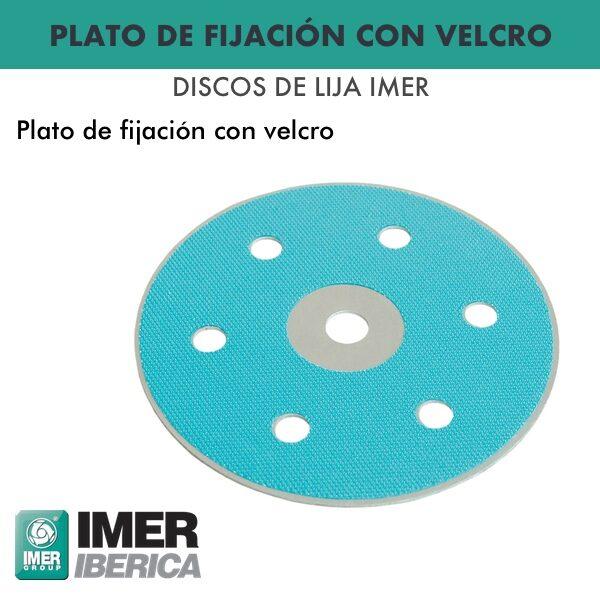 Befestigungsplatte für 225 mm Scheiben. vom Durchmesser Imer Ibérica