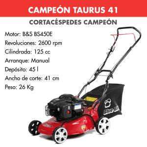 Cortacesped Campeon TAURUS 41 125 CC
