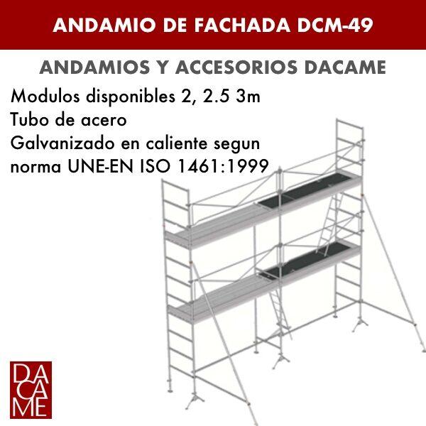 Andamio de Fachada DCM 49 Dacame