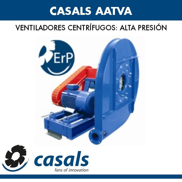 Casals AATVA Hochdruck-Radialventilator