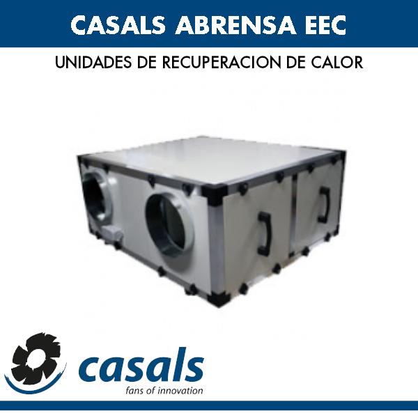 Wärmerückgewinnung Casals ABRENSA EEC