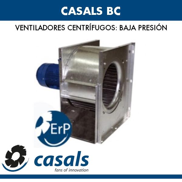 Casals BC Niederdruck-Radialventilator