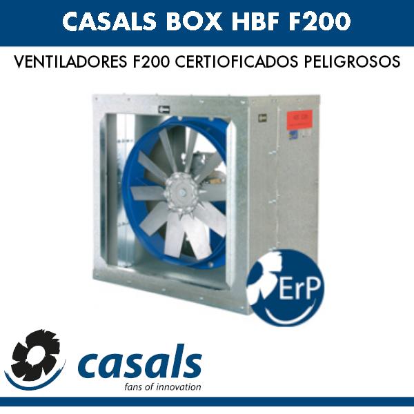 Casals BOX HBF F200 Lüfter