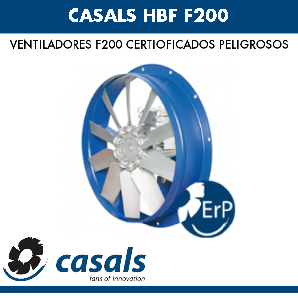 Casals HBF F200 Lüfter
