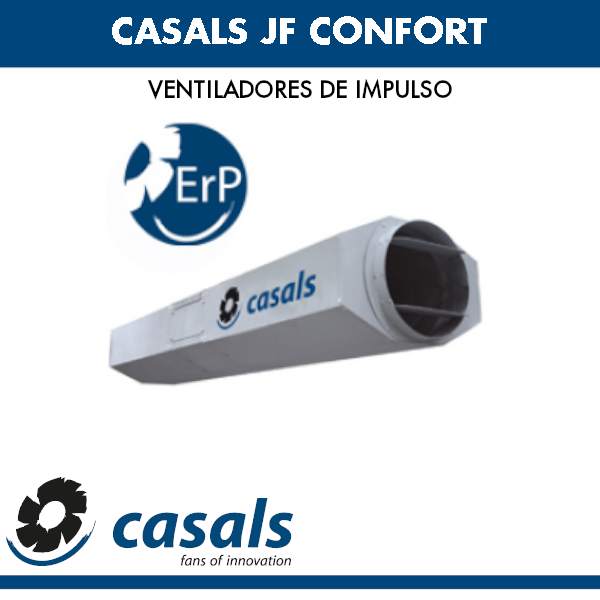 Casals JF CONFORT Impulslüfter