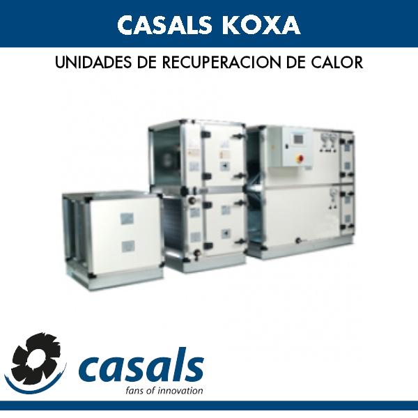 Wärmerückgewinnung Casals KOXA