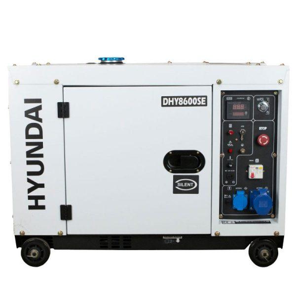 Electric generator HYUNDAI DHY8600SE diesel AE