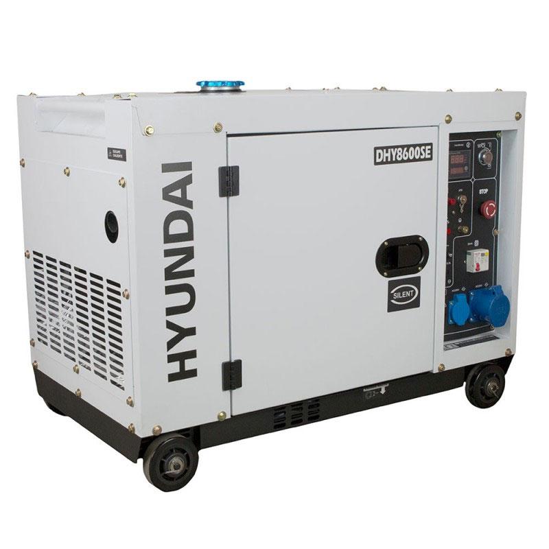 Electric generator HYUNDAI DHY8600SE