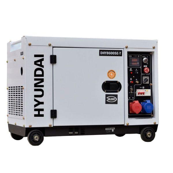 HYUNDAI DHY8600SE-T A / E TRIF Electric Generator