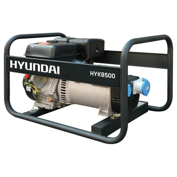 HYUNDAI HYK8500 single phase 6 / 6,5 kW electric generator