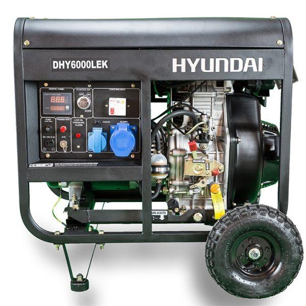 Electric generator HYUNDAI DHY6000LEK Diesel mono AE
