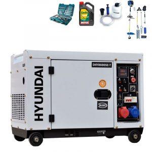 Generador electrico HYUNDAI DHY8600SET con regalos