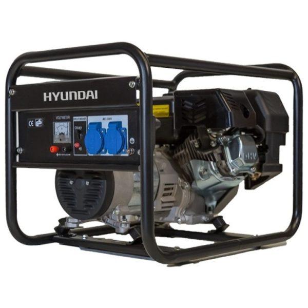 Generador electrico HYUNDAI HY3100 monofásico 2,5 / 2,8 kW