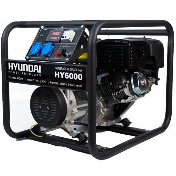Generador electrico HYUNDAI HY6000 monof 4 : 4,4 kW