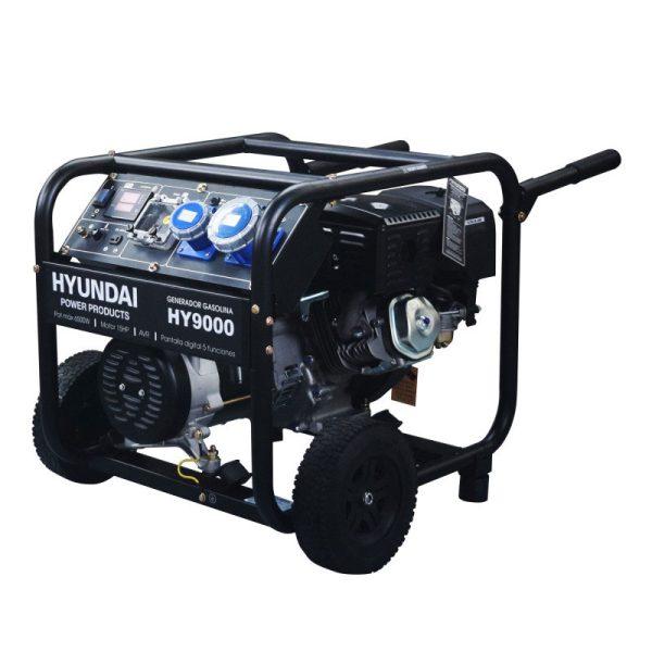 Electric generator HYUNDAI HY9000K single phase 6,5 kW