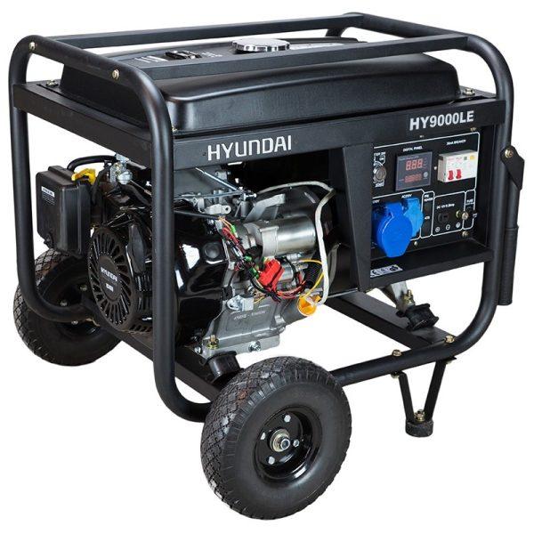 Electric generator HYUNDAI HY9000LEK 6 / 6,6 kW