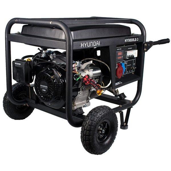 HYUNDAI HY9000LEK3 three-phase 2,2 / 2,5 kW electric generator