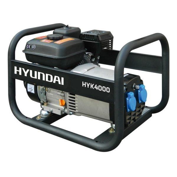 Generador eléctrico HYUNDAI HYK4000 monofásico 2,2 / 2,5 kW